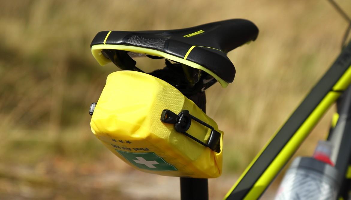 Apteczka rowerowa pod siodełkiem
