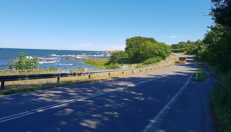 Drogi rowerowe Bornholm