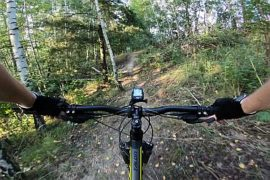 Trasy rowerowe na Górze Kamieńsk