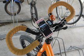 Uchwyt na telefon na rower