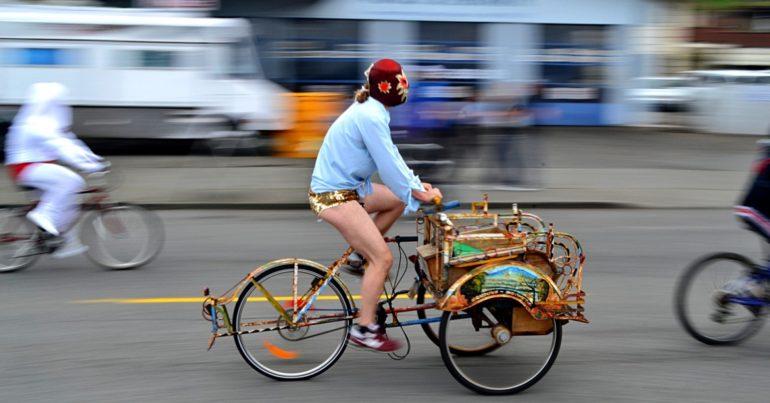 Za mała rama roweru