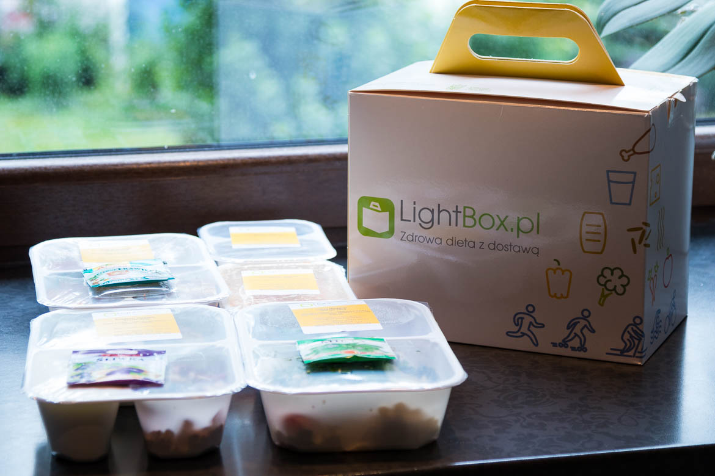Dieta pudełkowa Lightbox