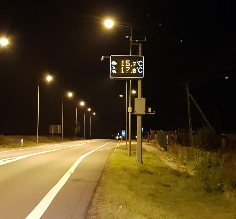 Temperatura w nocy