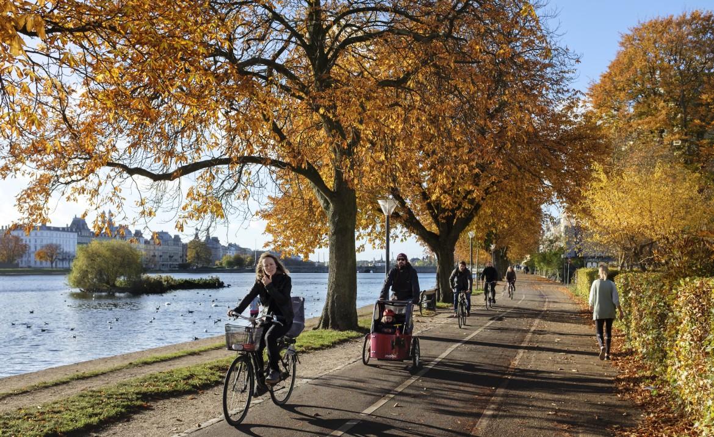 Jesień na rowerze