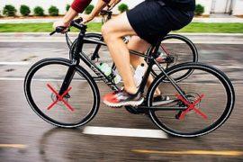 Rower bez hamulców tarczowych