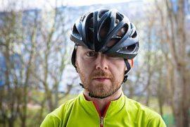 Regulacja kasku rowerowego